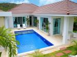 High-end European-inspired pool villa located west of Hua Hin