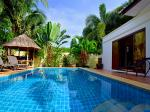 Tropically themed house with private pool in Hua Hin