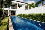 Freehold 3 Bedroom Duplex Condominiums with Private Pool near Naiharn Beach