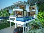 Sea View 4 Bedroom Private Pool Villa in Ao Por