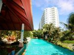 Breezy beachfront condominium located north of Hua Hin