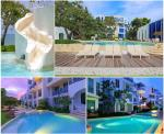 Located inside A Beachfront Condominium