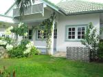 Partly furnished spacious house located west of Hua Hin Centre
