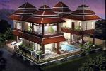 5 Bed Thai Bali Style Pool Villa For Rent In Ao Nang